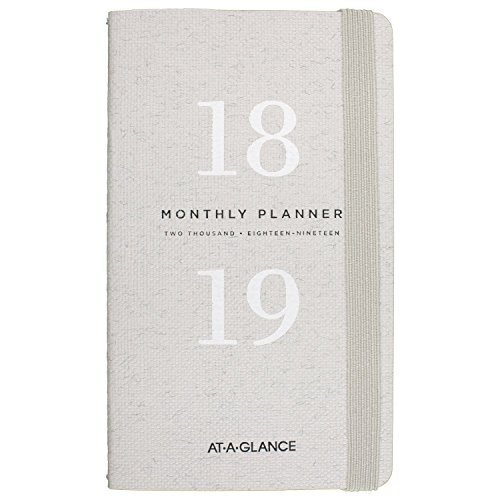 AT-A-GLANCE Monthly Pocket Planner, January 2018 - December 2019, 3-5/8