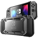 Mumba Nintendo Switch case, [Heavy Duty] Slim Rubberized [Snap on] Hard Case Cover for Nintendo Switch 2017 release (Black)