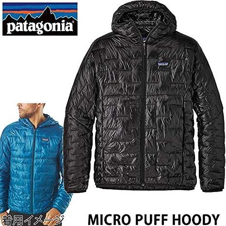 PATAGONIAパタゴニアマイクロパフフーディメンズ/MICROPUFFHOODY/Black(BLK)84030日本正規品PATAGONIAマイクロパフ【C1】の画像