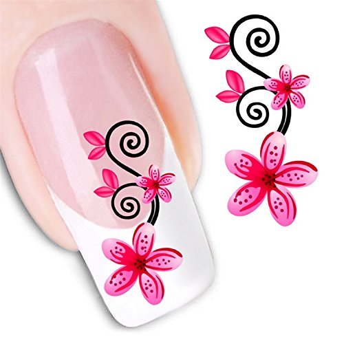 Nicedeco 1pack New Products Nail Art Flowers Nail Decals Nail