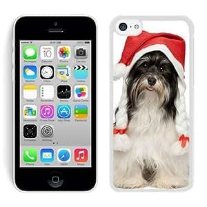 2014 Newest Iphone 5C TPU Case Christmas Dog White iPhone 5C Case 40
