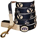Dog-E-Glow Brigham Young University Cougars Lighted LED Dog Leash, 6-Feet