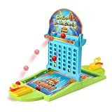 ABrand-New Concept ofConnect 4 Ball Shooting Game - 2017 New Design Wild Kids Republic 4 in A Row Ball Shooting Travel Gamefor Kids Adults Party Family Game, idea gift for kids 3 years and