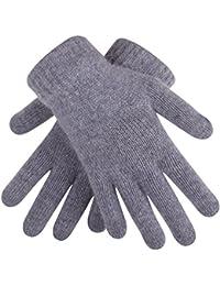 Winter Stretch Cashmere Gloves for Women Knit Magic Gloves Warm Gloves