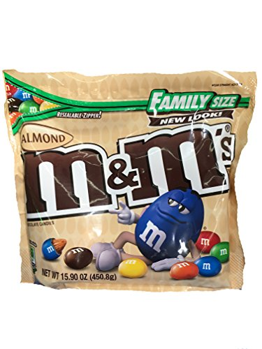 M&M's Almond Candies Family Size 15.9 oz -