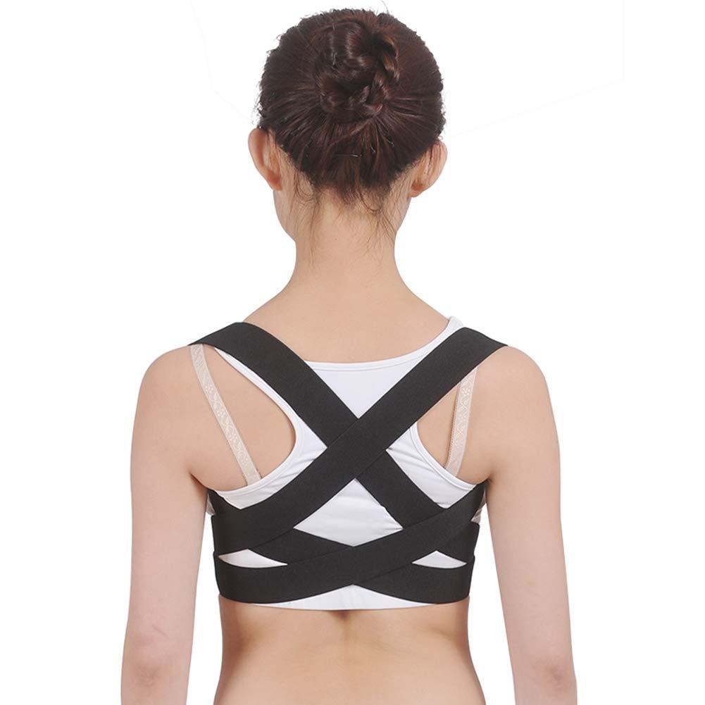 Humpback Correction Belt, Back Correction Belt, Correction of Hunchback Posture Correction, Back Correction,Left,S