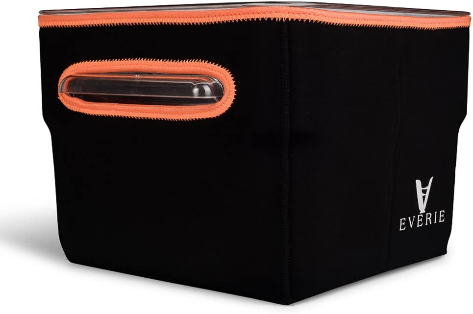 EVERIE Neoprene Sleeve for Cambro 12 Quart Sous Vide Container (Does Not Fit Rubbermaid), Helps Faster Heat Saves Electricity