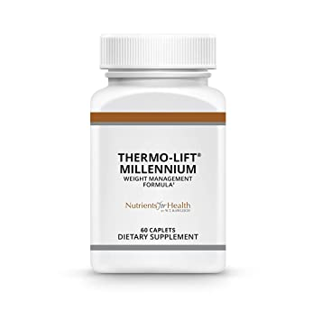 Appetite Suppressant for Weight Loss - Thermo-Lift Millennium - 60 Pills Caplets – Nutrients