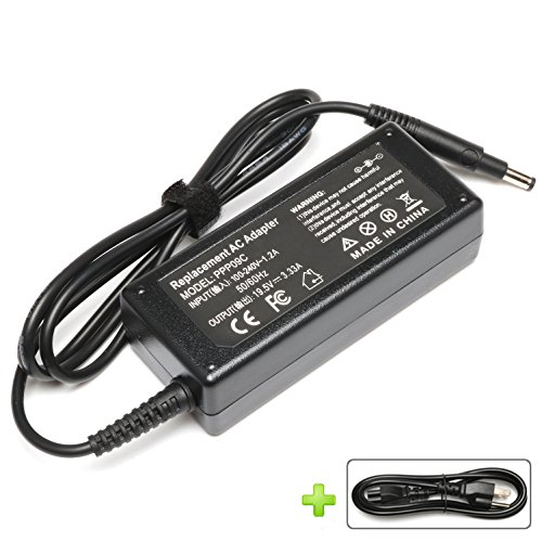 BatteryMon 19.5V 3.33A 65W PPP09C AC Adapter Battery Charger for HP Pavilion Touchsmart 14-b109wm Sleekbook Fit 693715-001, 677770-001,677770-002, 677770-003, 613149-003