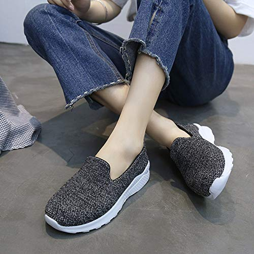 Alikeey Peppa Hunter Dcontractes Antidrapantes Chaussures Bascule Pig Noir Femmes Plates De Toile rarCxqF