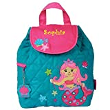 Personalized Quilted Backpack (Mermaids)