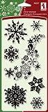 Inkadinkado 7-Piece Snowflakes A-Plenty Clear Stamp