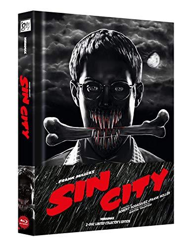 Sin City - 2-Disc Limited Collectors Edition + DVD - Cover A Alemania Blu-ray: Amazon.es: Rourke, Mickey, Willis, Bruce, Shelton, Marley, Hartnett, Josh, Alba, Jessica, Aoki, Devon, Owen, Clive, Wood, Elijah, Del
