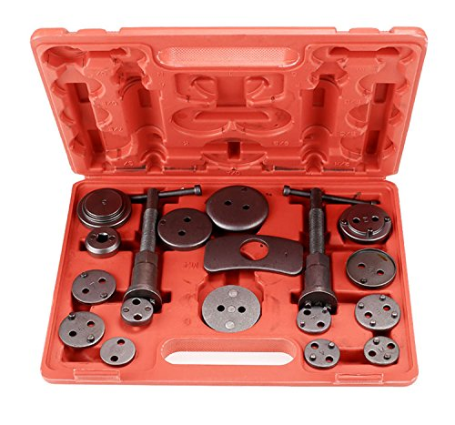 [US STOCK] eshion 18 Piece Brake Caliper Wind Back Tool Set for Disk Brake Pad Replacement Universal Kit Piston Pad Car Mechanics by eshion (Image #7)