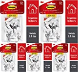 Command Wire Hooks, White, Indoor Use - 5 Pack