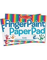 Deal on Melissa & Doug Finger Paint Paper Pad (12 x 18 inches) - 50 Sheets, 2-Pack