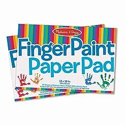 Melissa & Doug Finger-Paint Paper Pad 2-...