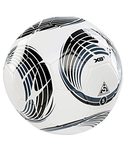 XARA XB1 V4 de fútbol balón de fútbol - tamaño 4 - blanco/negro ...