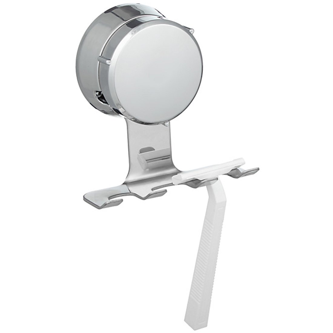 HOME SO Razor Holder with Suction Cup Hanger - Antibacterial ...