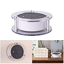 XCSOURCE Acrylic Speaker Holder Wall Mount Stable Stand (Transparent) for Amazon Alexa Echo Dot 2nd Generation TH606