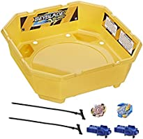 Save on Beyblade Burst - Rivals 2 player Battle Set with Stadium, Launchers & tops