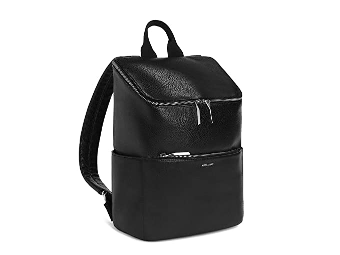2256e2a28f Image Unavailable. Image not available for. Colour  Matt and Nat Brave  Dwell Vegan Backpack in Black