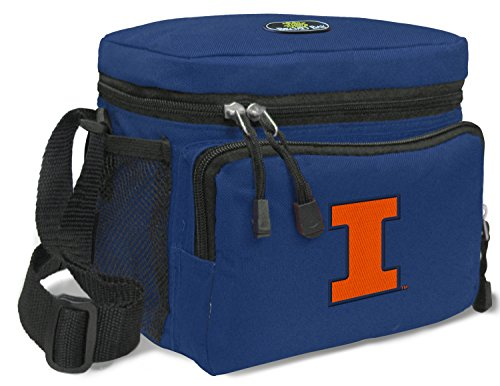 (Broad Bay Illini Lunch Bag NCAA University of Illinois)