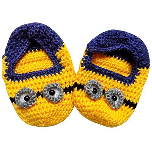 So Sydney Girls Boys Crochet Novelty Fall Shoes