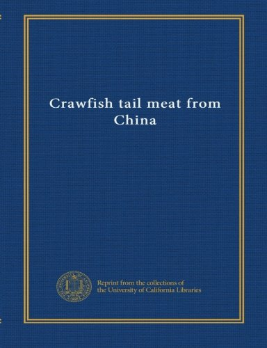 Crawfish tail meat from China (Craw Tail)