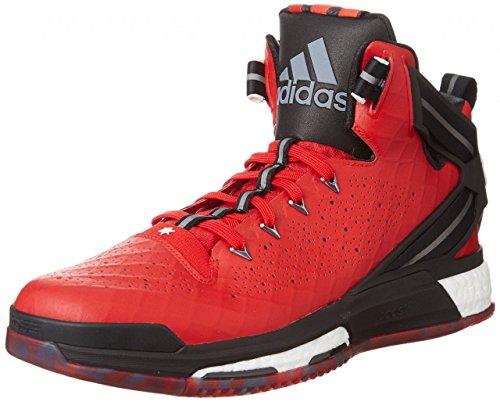 adidas D Rose 6 Boost - Zapatillas para niños Rojo / Negro