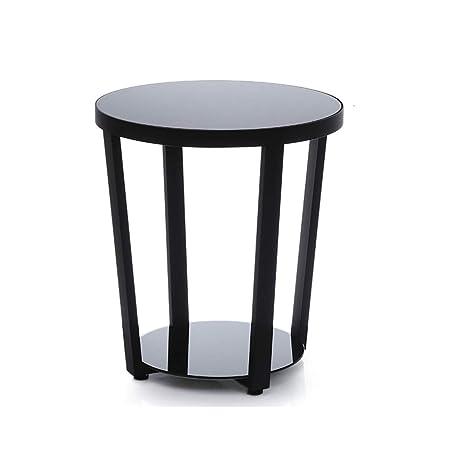 LHOME Tavolino da Salotto Rotondo, Arredamento Moderno per ...
