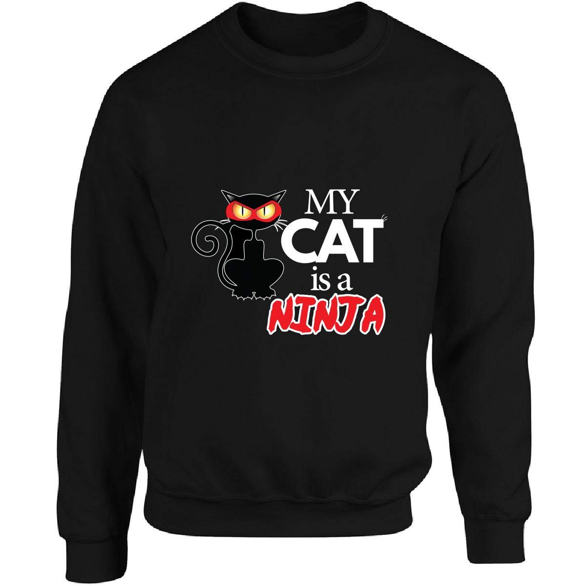 My Cat is A Ninja Great Cat Artwork with Catchy Tagline ...