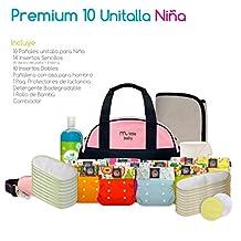 Pañales Ecológicos My Little Baby Premium 10 Unitalla NIÑA