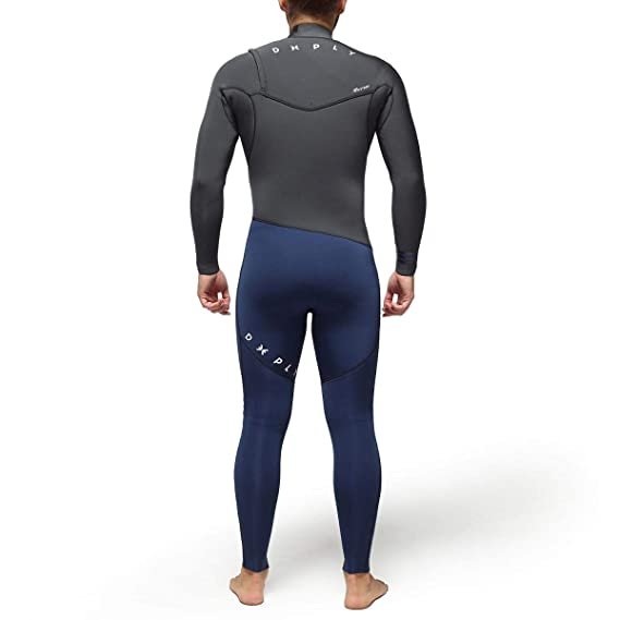 DEEPLY Traje DE Surf Hombre Premium 4/3 Chest Zip: Amazon.es: Deportes y aire libre