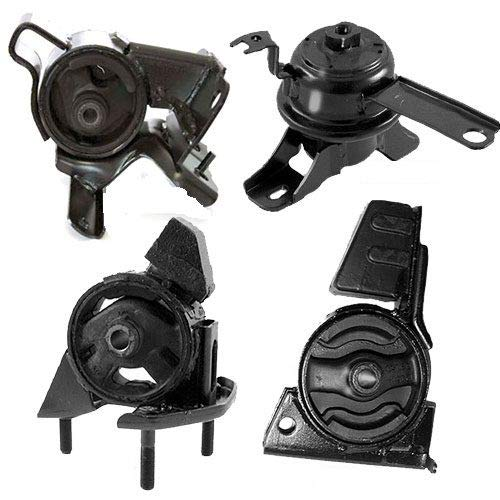 K0188 Fits 1998-2002 TOYOTA COROLLA 1.8L Engine Motor & Trans Mount Set for 4 Speed AUTO 4 PCS : A7256, A7243, A7254, A7259 2000 Toyota Corolla Engine