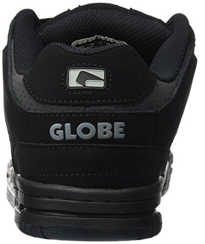 casa Black Globe Scribe Hombre Zapatillas de Gunmetal Mehrfarbig p4xHxqtw
