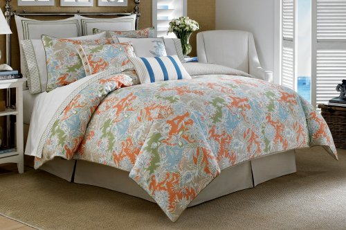 Nautica Greenport King Comforter Multicolor - Floral Quilt Nautica