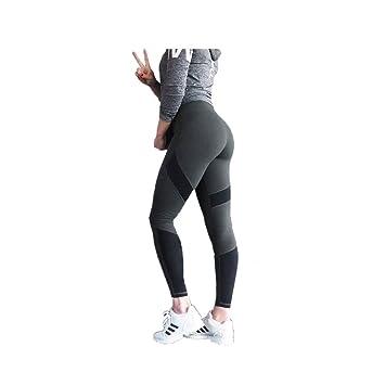 2795c0a43d4b Women's Leggings Yoga Pants Geometric Stitching Hips Sweatpants For ...