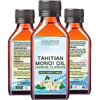 MONOI OIL JASMINE. Monoi Coconut Oil with Jasmine Oil for Hair, Face, Body, Lip,...