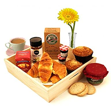 breakfast hers gift baskets send the breakfast treat for two