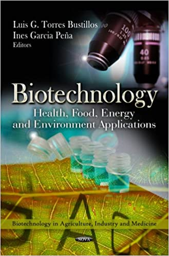 BIOTECHNOLOGY HEALTH FOOD ENE. (Biotechnology in Agriculture, Industry and Medicine)