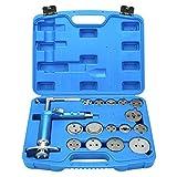 8milelake 16pcs Pneumatic Disc Brake Caliper Piston Air Brake Caliper Piston Compressor Master Tool Kit