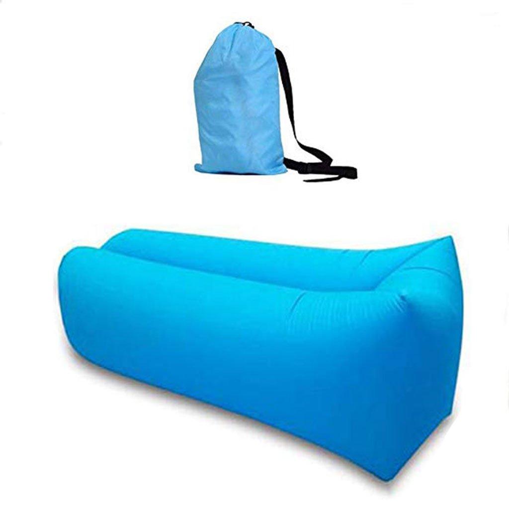 GSS-Air Beds Aufblasbare Liege Couch mit Tragetasche, Strandliege, Luftsofa, aufblasbare Couch Bett, Pool Float für Indoor/Outdoor, wasserdicht, langlebig