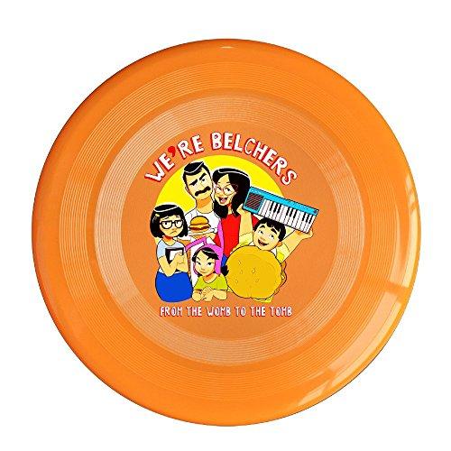 YQUE56 Unisex Cartoon Rolr Poster Outdoor Game Frisbee Flying Discs Orange