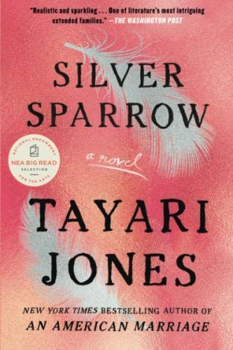 Book cover from Silver Sparrow by Tayari Jones