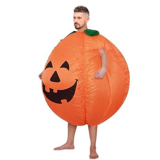 QCRLB Disfraz de Calabaza de Halloween Pumpkin Inflatable Ghost ...