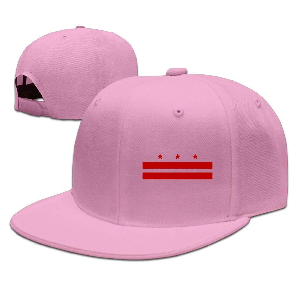 83a9ba21 Flag of Washington D.C. Mens Womens Adjustable Plain Baseball Cap Plain Cap  for Running