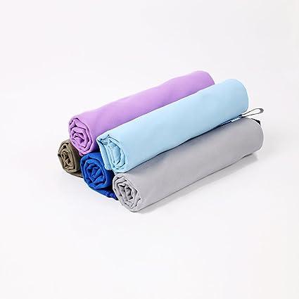 BIPY absorción de agua toalla de microfibra Toallas de secado rápido ligero y suave de para