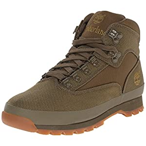 Timberland Men's Euro Hiker Mid Fabric Fashion Sneaker