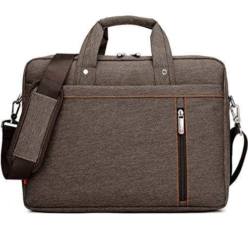 Humok 13 14 15-15.6 Inch Fashion Durable Waterproof Computer Laptop/Notebook/Tablets/MacBook Messenger Shoulder Bag Carry Case Briefcase (14.6 inches, Brown) (Sony 11 Laptop Inch)